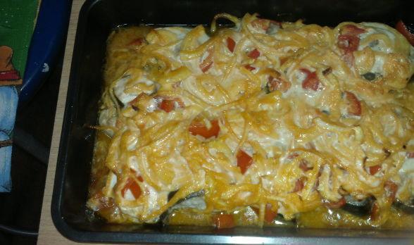 горбуша-с-сыром-и-помидорами