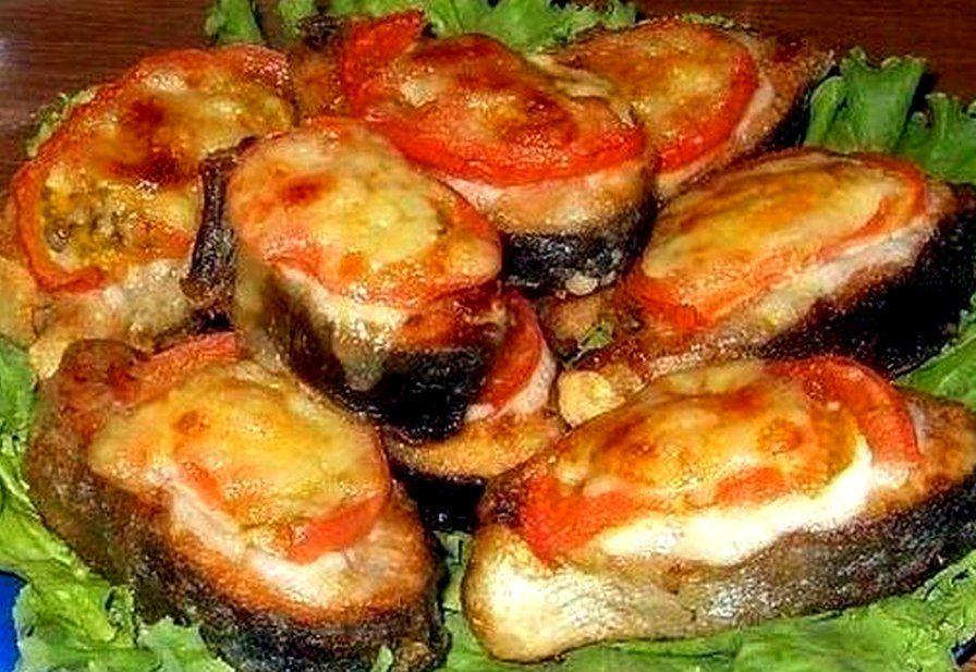 Горбуша с помидорами и сыром в духовке пошаговый рецепт с