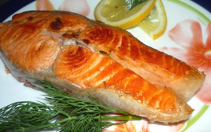 стейк из кеты на сковороде рецепт с фото