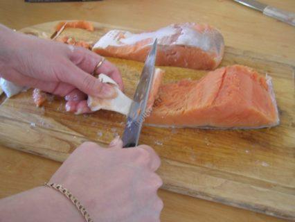 Жареная кета на сковороде рецепт с фото