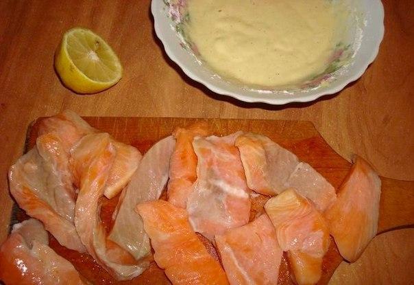 Сёмга в кляре пошаговый рецепт с фото