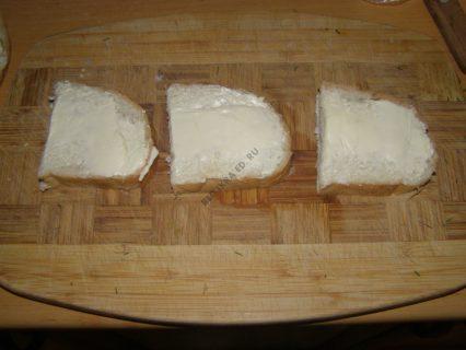 хлеб сливочный сыр