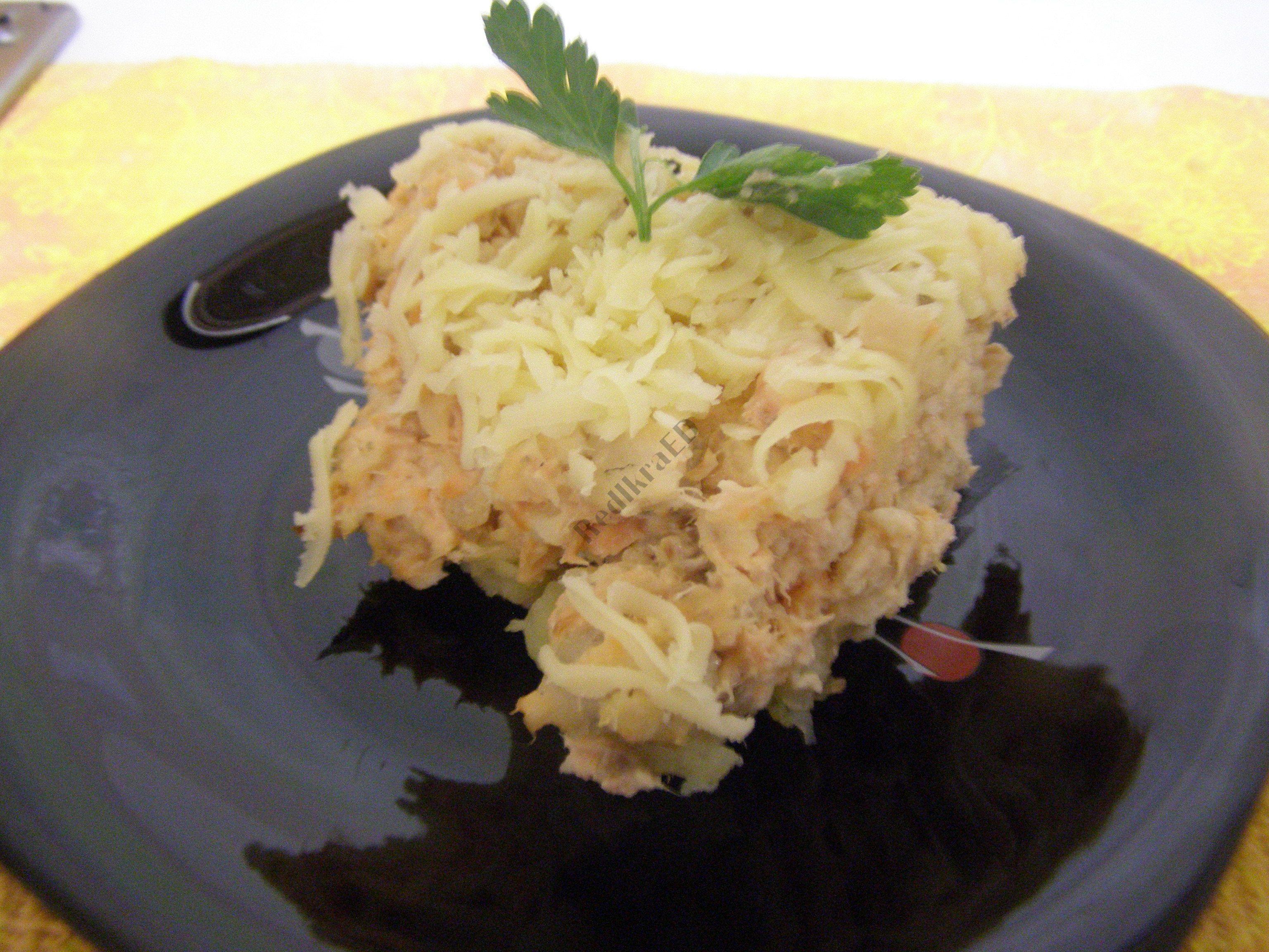 салат с кальмарами самый популярный
