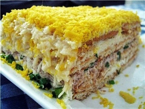 салат золотая рыбка